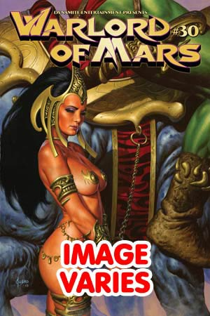 DO NOT USE (FILLED RANDOMLY) Warlord Of Mars #30 Regular Cover (Filled Randomly With 1 Of 2 Covers)