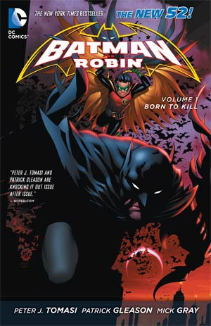 Batman And Robin (New 52) Vol 1 Born To Kill TP