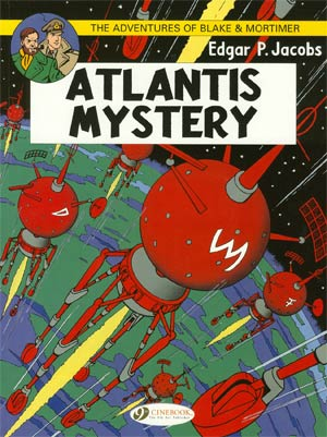 Blake & Mortimer Vol 12 Atlantis Mystery GN