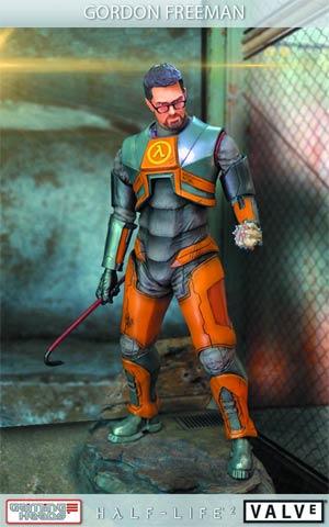 Half-Life 2 Gordon Freeman Statue