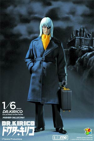 Black Jack Dr Kirico 1/6 Scale Premiere Collection Action Figure