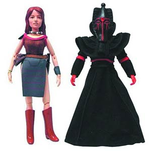 Doctor Who Leela & Sutekh 8-Inch Action Figure Assortment Case