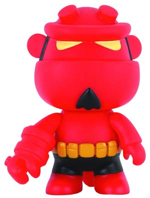 Hellboy 5-Inch Mini Qee Figure - Red