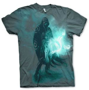 Magic The Gathering Jace Black T-Shirt Large