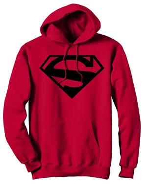 Superman 52.1 Symbol Hoodie Medium