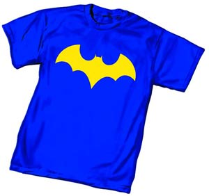 Batgirl Symbol Womens T-Shirt Large