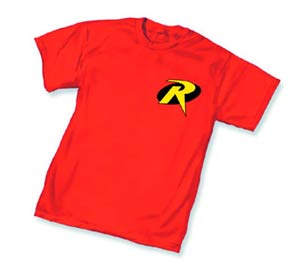 Robin Symbol Womens T-Shirt Large