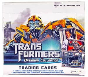 Transformers Trading Cards Box
