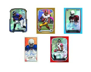 Bowman 2013 Football Trading Cards Box