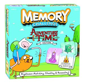 Memory Challenge Adventure Time Edition