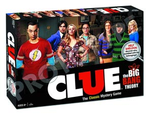 Clue Big Bang Theory Collectors Edition