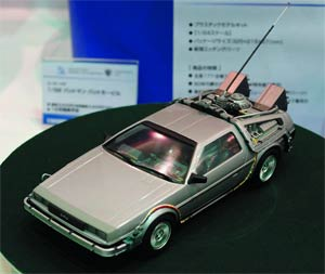 Back To The Future DeLorean 1/24 Scale Model Kit