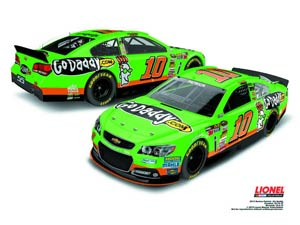 NASCAR 1/24 Scale Die-Cast - Danica Patricks GoDaddy.com Chevrolet SS