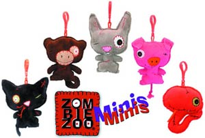 Zombie Zoo Mini Plush - Toxic 4-Inch