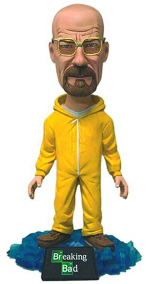 Breaking Bad 6-Inch Bobble Head Case