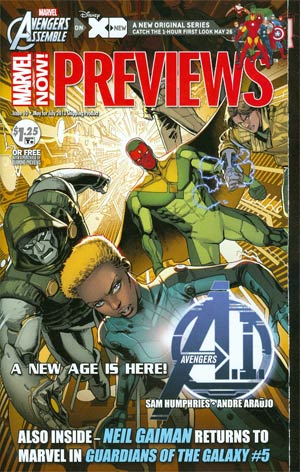 Marvel Previews #117 May 2013