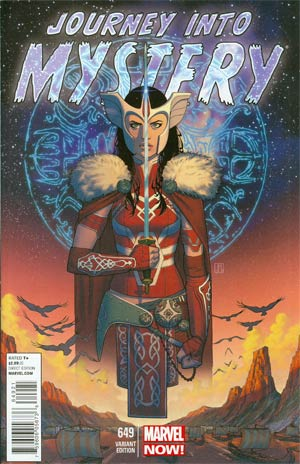 Journey Into Mystery Vol 3 #649 Incentive Jorge Molina Variant Cover