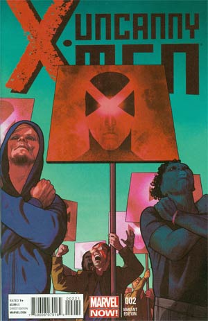 Uncanny X-Men Vol 3 #2 Incentive Frazer Irving Variant Cover