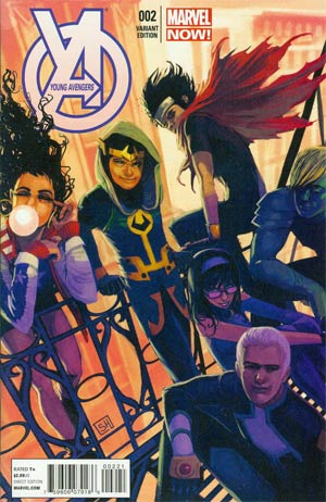 Young Avengers Vol 2 #2 Cover B Incentive Stephanie Hans Variant Cover
