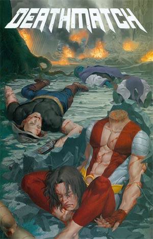 Deathmatch #3 Variant Morgue Cover