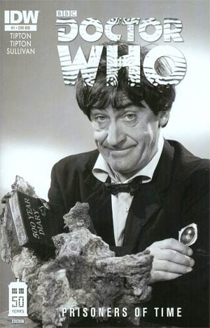 Doctor Who Prisoners Of Time #2 Incentive Second Doctor Photo Variant Cover (Cover Misprinted As #1)