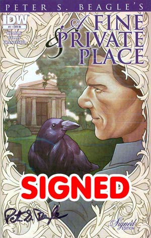 Fine & Private Place #1 Incentive Signed By Peter S Beagle