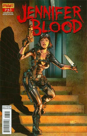Garth Ennis Jennifer Blood #23 Incentive Sergio Fernandez Davila Risque Variant Cover