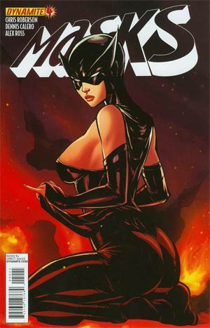 Masks #4 Incentive Ale Garza Ms Fury Revealing Risque Variant Cover