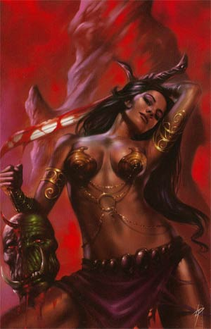 Warlord Of Mars #23 Incentive Lucio Parrillo Virgin Cover