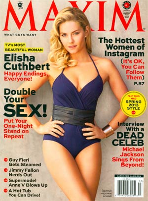 Maxim Magazine #181 Mar 2013