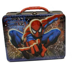 Spider-Man Embossed Large Carry All - Blue