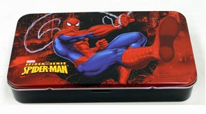 Spider-Man Tin Storage Box - Black