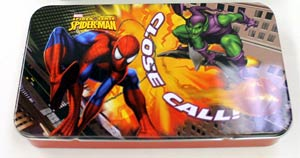 Spider-Man Tin Storage Box - Red