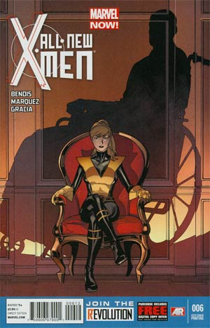All-New X-Men #6 2nd Ptg Stuart Immonen Variant Cover