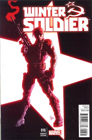 Winter Soldier #16 Cover B Incentive Mike Deodato Jr Variant Cover