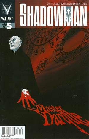 Shadowman Vol 4 #5 Incentive Dave Johnson Variant Cover