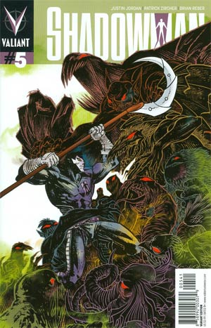 Shadowman Vol 4 #5 Incentive Rafael Grampa Linewide Variant Cover