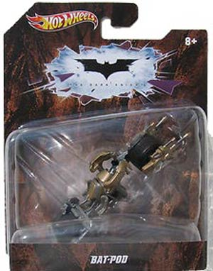 Hot Wheels Batman 1/50 Batman Dark Knight Bat-Pod