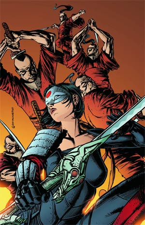 Katana #2 Incentive David Finch Sketch Cover
