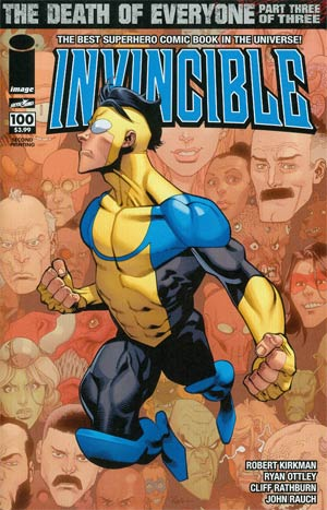 Invincible #100 2nd Ptg