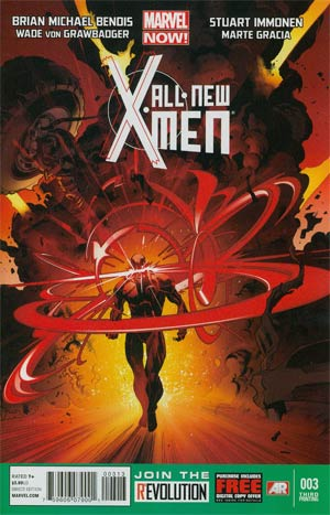 All-New X-Men #3 3rd Ptg Stuart Immonen Variant Cover