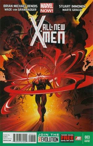 All-New X-Men #3 3rd Ptg Stuart Immonen Variant Cover