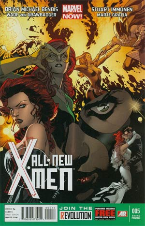 All-New X-Men #5 3rd Ptg Stuart Immonen Variant Cover