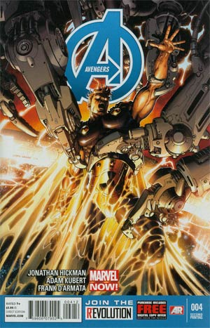 Avengers Vol 5 #4 2nd Ptg Adam Kubert Variant Cover