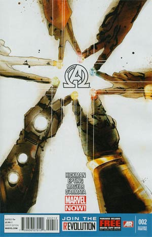 New Avengers Vol 3 #2 2nd Ptg Jock Variant Cover