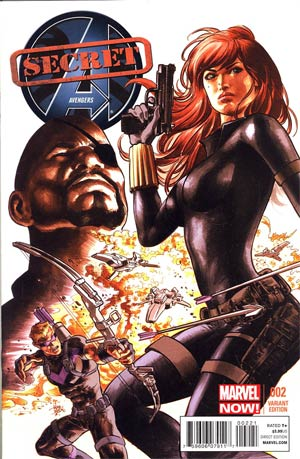 Secret Avengers Vol 2 #2 Incentive Mike Deodato Jr Variant Cover