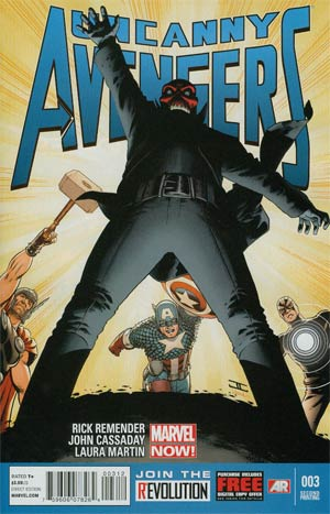 Uncanny Avengers #3 2nd Ptg John Cassaday Variant Cover
