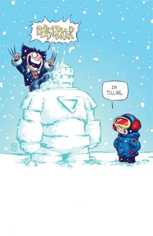 Wolverine Vol 5 #1 Variant Skottie Young Baby Cover