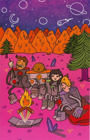 Bravest Warriors #6 Incentive Aaron Whitaker Virgin Variant Cover