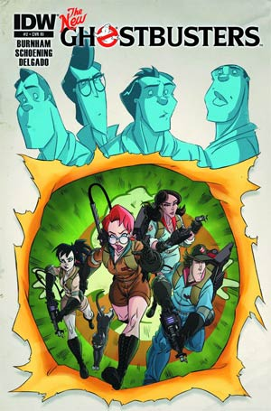 New Ghostbusters #2 Incentive Dan Schoening Tribute Variant Cover